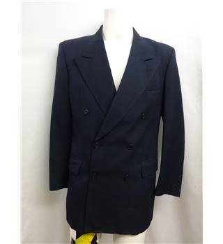 *Crombie size: L blue double breasted suit jacket