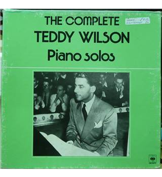 The Complete Teddy Wilson Piano Solos - Teddy Wilson - 66370 (3 LP Box Set)