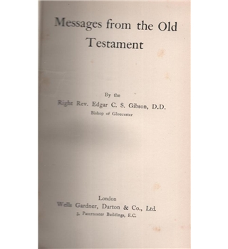 Messages from the Old Testament