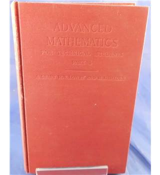 Advanced Mathematics for Technical Students Part 1