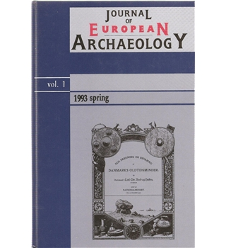 Journal of European Archaeology - Vol. 1