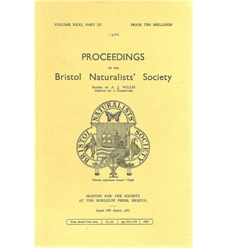 Proceedings of the Bristol Naturalists' Society 1966 Volume 31 Part 3