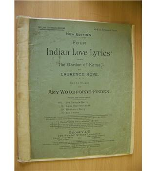 "Four Indian Love Lyrics from ""The Garden of Kama"""