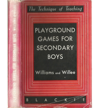 Playground games for Secondary boys
