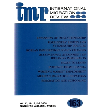 International migration review volume 42