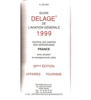Guide Delage de l'Aviation Generale 1999