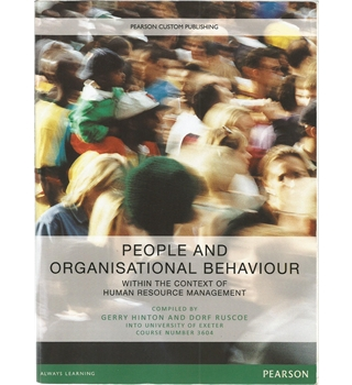 People and Organisational Behaviour - within the context of human resources management