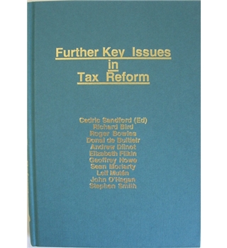 Further key issues in tax reform