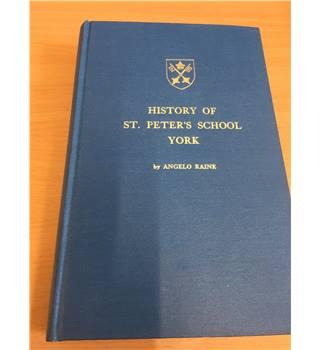 History of St Peter's School York