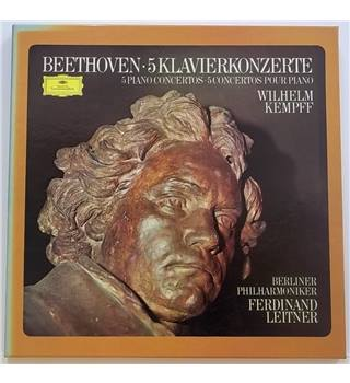 Beethoven: The 5 Piano Concertos Kempff, Wilhelm - 2721 066