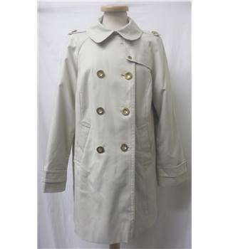 Alex & Co. - Size: 14 - Cream / ivory - Double Breasted Trench coat