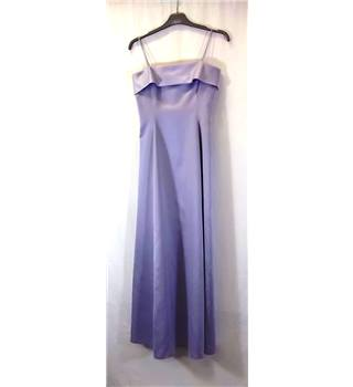 Gina bacconi - Size: 10 - Purple - Strapless dress
