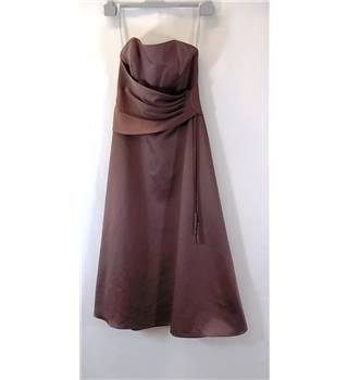Alfred Angelo - Size: 13 - Brown - Long dress