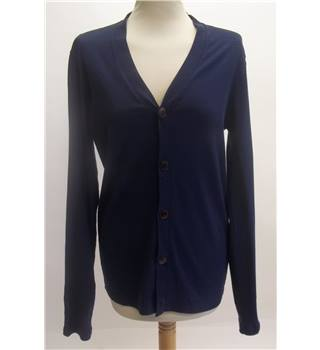 Dunhill Navy Blue Cardigan Size: S