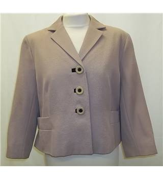 Hobbs - Size: 16 - Beige - Smart jacket / coat