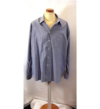 M&S Marks & Spencer - Size: XL - Blue - Long sleeved Shirt