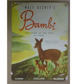 Bambi - The Story of the Film in Verse
