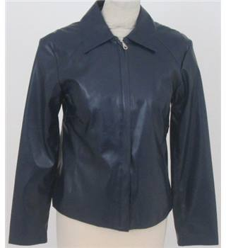 Pure size 12 navy blue casual jacket
