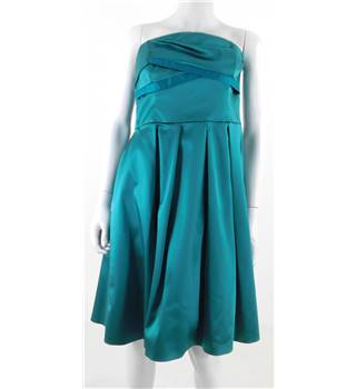 Coast Size 14 Teal Occasion Dress