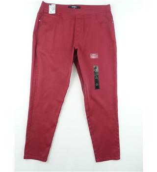 Pep & Co Size 18 Red Jeggings