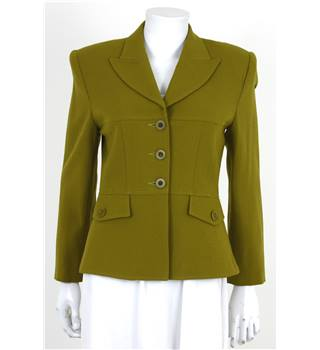 The Powerhouse Woman Collection: Vintage Ice Cube By Michael Size 6 Green Blazer