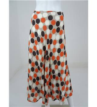 Hobbs Size: 8  Geometric Multi-coloured  Long skirt