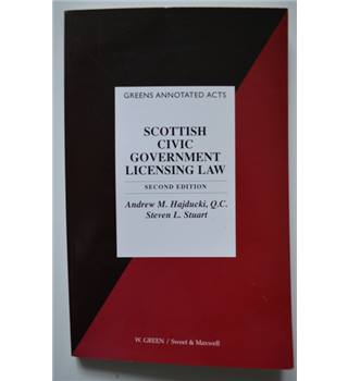Scottish Civic Government Licensing Law