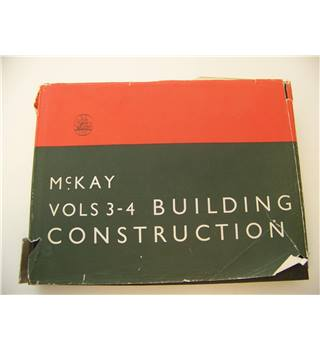 McKay Building Construction vols 3&4