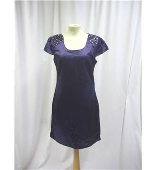 Harvey Who? - Size: 8 - Blue - Short Dress
