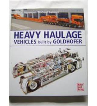 Heavy Haulage Vehicles Built by Goldhofer.
