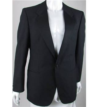 *Vintage St Michael Size: 42R Black Wool Mix Single breasted dinner jacket