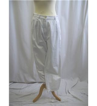 Ralph Lauren - Size: 10 - White - Trousers