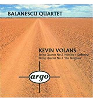 Kevin Volans: String Quartet No. 2 'Hunting: Gathering' and String Quartet No. 3 'The Songlines' -  - Quartet, The Balanescu