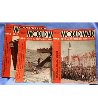 Issues 53 -55. World War 1914 - 1918 A Pictorial History