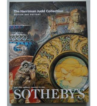 Sotheby's Catalogue - The Harriman Judd Collection 22 Jan. 2001