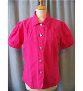 EWM (Edinburgh Woollen Mill) - Size: 12 - Pink - Casual jacket / coat