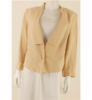 Whistles Size 14 Nude Lightweight Jacket