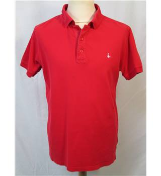 Jack Wills - Size: Large - Red - Short sleeved Polo Shirt