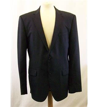 Hugo Boss - Size: 42 - Black/grey pinstripe - Single breasted suit jacket