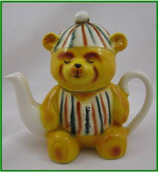 Wood Potters of Burslem - novelty teapot - teddy bear