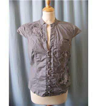 River Island - Size: 14 - Grey - Blouse