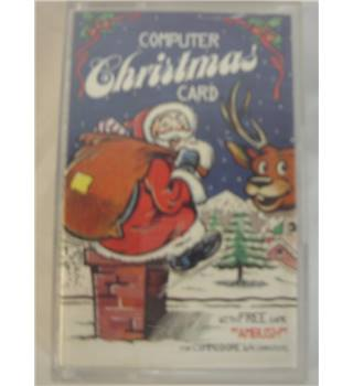 Computer Christmas Card (ft Ambush game) * COMMODORE 64 *