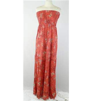 Oasis - Size: S -  Salmon - Maxi Dress