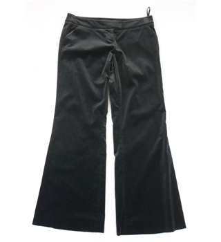 *NWOT Whistles Size: 14 Black Velvet Boot Cut Trousers