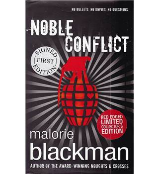 Noble Conflict - Malorie Blackman - Signed Red Edged Limited Collector's (1st) Edition