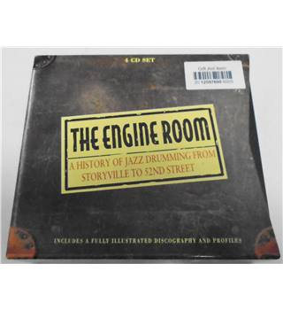The Engine Room: A History of Jazz Drumming from Storyville to 52nd Street (4CD) Box set