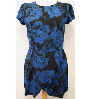 Motel - Size: XS - Blue and Black - Playsuit