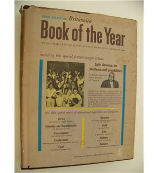 Britannica Book of the Year 1966 edition