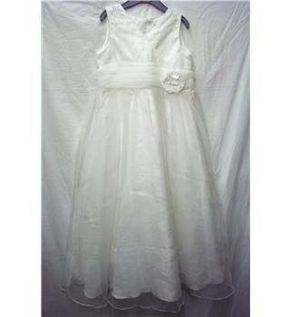 BHS - Size: Age 9 - Cream / ivory - Dress /  gown
