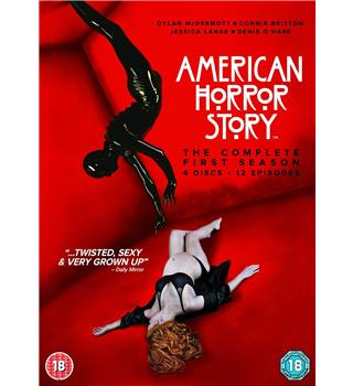 American Horror Story - Season 1 4 discs 12 episodes Certificated 18+